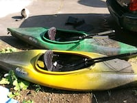 2 kayaks w/ 4 paddles West Haven, 06516