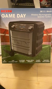 Bluetooth Speaker: Gameday wireless rechargeable speaker system