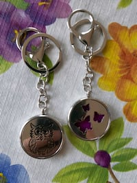 New Oil diffuser Keychains.  Each