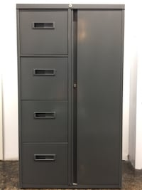 Filing Cabinet with a Storage unit (Wardrobe Space) Glendale