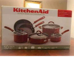 Kitchen Aid, 10 piece set