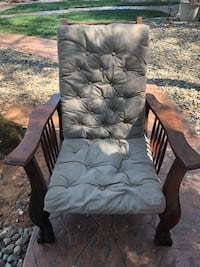 Morris Original Reclining Chair w/Horse Hair Filled Cushions, in excellent condition. Circa 1860's, claw feet Placerville, 95667