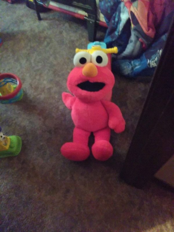 Used Giant Elmo For Sale In Christopher Letgo