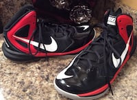 Nike black, red, & white high cut shoes Calgary, T2J