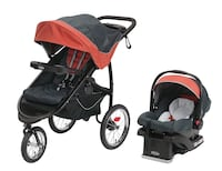Brand New Graco Fastacation Fold Jogger Stroller Click Connect Travel System RIXEN 3739 km