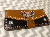 brown and black leather wallet Wahiawa, 96786