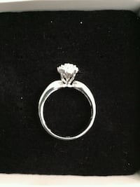 1/8 CT Round Cut 14k Gold Cluster Ring Mount Prospect, 60056