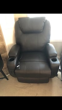 Leather chair with massage Edmonton, T6T 0M3