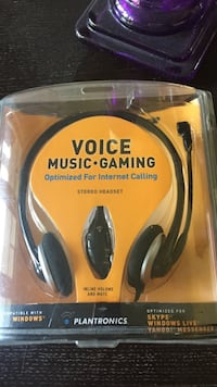 Voice Music Gaming headset in pack Oakville, L6H 1B2