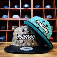 FOAMEE JDMY BASIC STYLE BASEBALL CASUAL SNAP CAPS