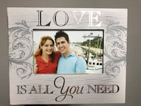 Grey love-printed photo frame Poughkeepsie, 12601