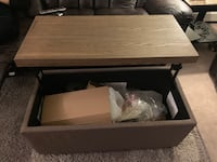 brand new in the box coffee table and storage Burnaby, V5B 3P8