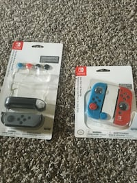 Nintendo Switch Guards BlueRed for 25 black for 15