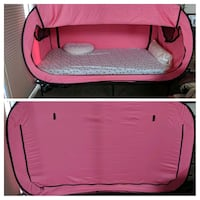 EUC Twin XL Privacy Pop Bed Tent - Pink