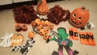 Halloween decorations all for $5 Toronto, M9A 4M6