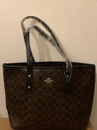 NEW CHOCOLATE AND BLACK HANDBAG Laurel, 20707