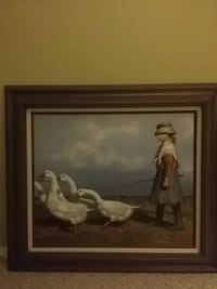 Goose Girl Canvas Painting Toms River, 08757