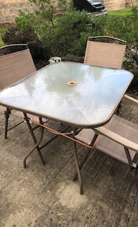 Patio table and 4 chairs Middletown, 10940