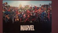 Marvel and DC poster boards Kitchener, N2P 1W4