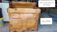 wood dry sink!! Beautiful  Thurmont