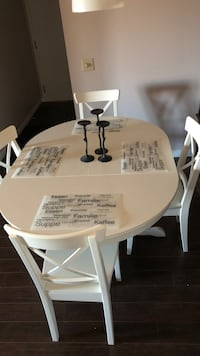 white wooden dining table set Calgary, T3A 3V2