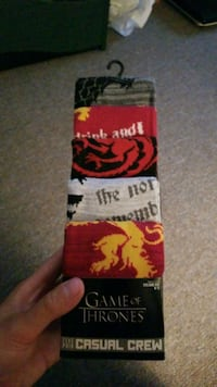 game of thrones sock set  Mississauga, L5N 3A8