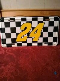 #24 Jeff Gordon license plate. Hagerstown, 21740