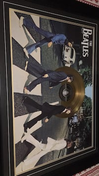 Gold Dipped The Beatles Lp Record
