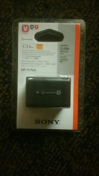 Sony InfoLithium rechargeable battery pack