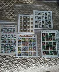 Bassball stamps $ 50 1999to 2007
