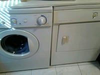 white front-load washer and dryer set Mississauga, L5G 1G4