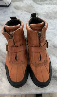 Polo boots size 6 Violet, 70092