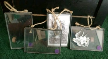 Glass/metal picture frame lot