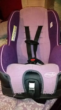 baby's pink and black Graco car seat Spring, 77373
