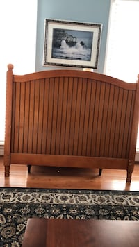 Brown wooden full headboard  Bristow, 20136
