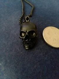 New skull head, and 24 inch necklace.