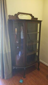 Antique bowfront china cabinet Arlington, 22204