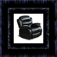 Black recliner chair Rockville, 20847
