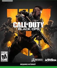 Call of Duty: Black Ops 4 for Xbox One Markham, L6E 1R3