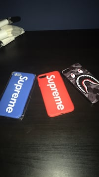 Supreme/Bape IPhone cases Burlington