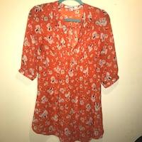 Forever21 sheer top size S  Greensboro, 27409