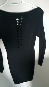 black long-sleeved dress Edmonton, T5Y 2S8