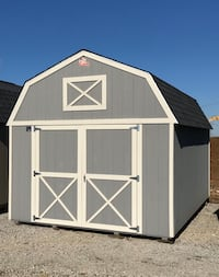 Shed-12x16 Lofted Barn $212mo-Rent To Own Free Delivery & Setup