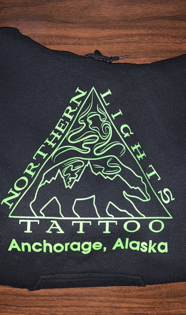 Photo Northern Lights Tattoo hoodie