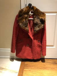 Womens rust coloured coat size 8 Richmond Hill, L4C 5R5