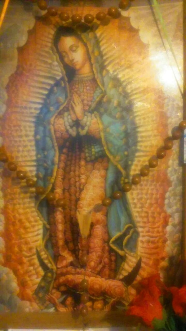 Used Our Lady Of Guadalupe Painting For Sale In Cicero Letgo