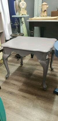 Driftwood gray end table North Augusta