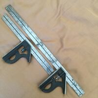 Two silver-and-black meter rulers Hesperia, 92345