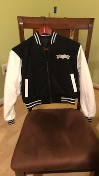 Playboy letterman reversible jacket