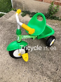green and yellow ride on toy Coopersburg, 18036